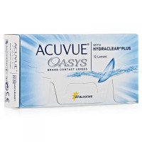 Контактные линзы Acuvue Oasys (Акувью оазис), 6 штук