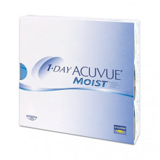 Контактные линзы Acuvue One Day Moist (Акувью ван дей моист), однодневные, 180 шт
