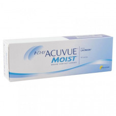 Контактные линзы Acuvue One Day Moist (Акувью ван дей моист), 30 штук