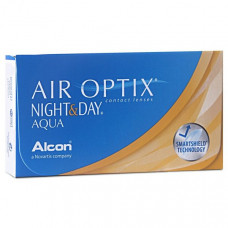Контактные линзы Air Optix (Aqua) Night&Day (Аир оптикс найт энд дей) 3 штуки