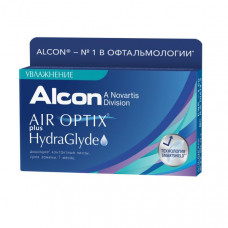 Air Optix plus HydraGlyde 3 шт