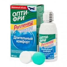 Раствор для ухода за линзами Opti-Free Replenish (Опти фри реплениш), с контейнером
