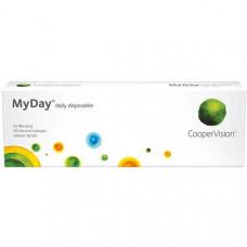 Однодневные контактные линзы MyDay 30 штук