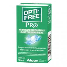 Капли увлажняющие Opti-free PRO 10 мл