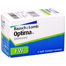 Контактные линзы Optima FW, 4 штуки