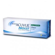 1-Day Acuvue Moist Multifocal мультифокальные контактные линзы 30 штук