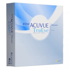 Контактные линзы Acuvue One Day TruEye (Акувью ван дей труай), 90 штук