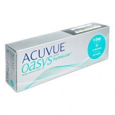 Контактные линзы Acuvue Oasys 1-Day HydraLuxe 30 штук