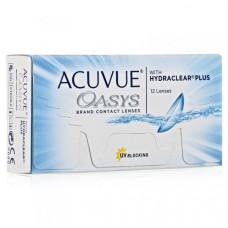 Контактные линзы Acuvue Oasys (Акувью оазис), 12 штук