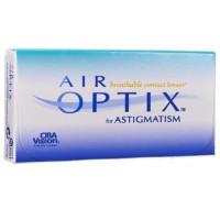 Астигматические контактные линзы Air Optix For Astigmatism (Эйр оптикс астигматизм), 3 штуки