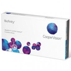Контактные линзы Biofinity (Биофинити), 6 линз