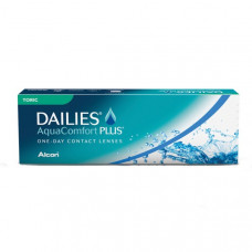 Торические линзы Dailies AquaComfort Plus Toric (Фокус Дэйлис астигматизм), 30 шт