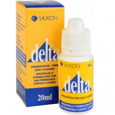Очиститель для жестких контактных линз Delta 20мл