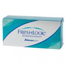 Цветные контактные линзы FreshLook Dimensions (Фрешлук Дименшионс), 2 линзы
