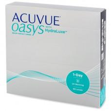 Контактные линзы Acuvue Oasys 1-Day HydraLuxe 90 штук