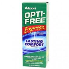 Многоцелевой раствор для контактных линз Opti-Free Express с контейнером