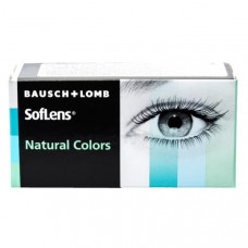 Цветные контактные линзы Soflens natural colors (Софлинз Натура Калор) 2 линзы